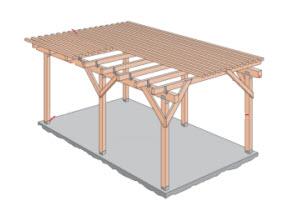 veranda bouwen bouwtekening