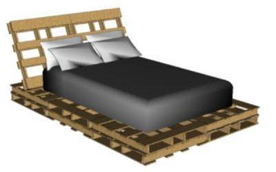 pallet bed maken