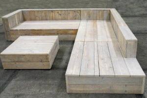 Loungebank steigerhout zelf maken u materialen voor constructie