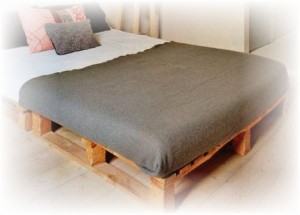 Extreem pallets-bed-maken - Bouwtekeningen Pakket.nl @LG87