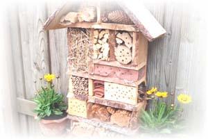 Bouwtekening voor een insectenhotel
