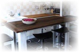 bartafel maken met de bartafel bouwtekening