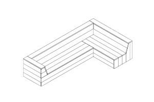 bouwtekening steigerhout hoekbank downloaden