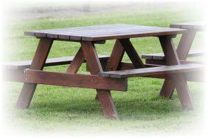 zelf een picknicktafel maken