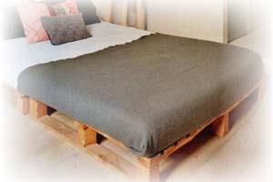 Zelf een Pallet bed maken