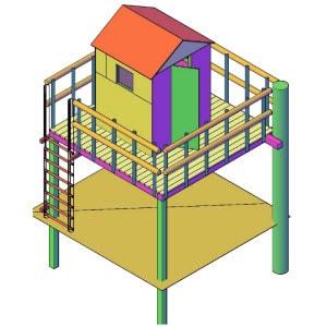 boomhut bouwen hut bouwen
