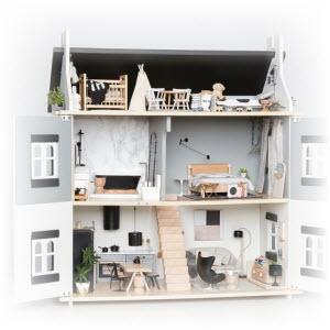 Verwonderend Poppenhuis Maken? Download de bouwtekening! | BouwtekeningenPakket PP-66