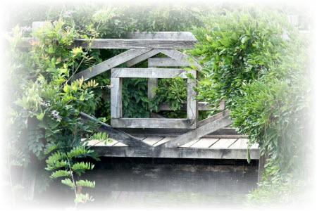 houten brug bouwtekening