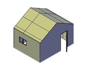 bouwtekening garage