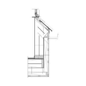 Raamdakkapel bouwtekening